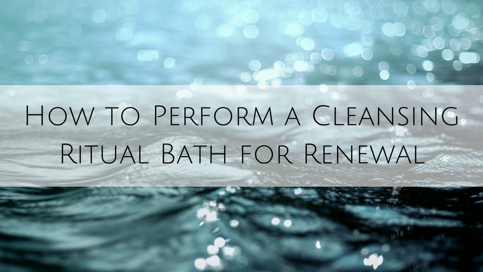How to Perform a Cleansing Ritual Bath for Renewal - Alcantara